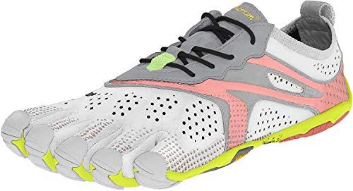 Vibram FiveFingers 17W7006 V-RUN, Sneaker Damen, Weiß (Rosa/Oyster), 39 EU