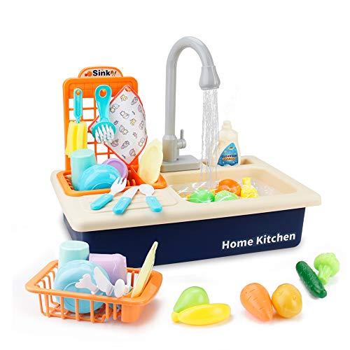 BOBXIN Play Kitchen Toy Sink