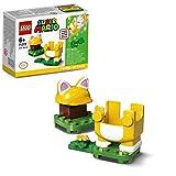 LEGO- Super Mario Gatto-Power Up Pack, Espansione, Costume per pareti da Arrampicata, Giocattolo, 71372