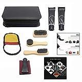 LHKJ Kit d'entretien de la Chaussure, Kit d'entretien de Cuir Portable. Kit...