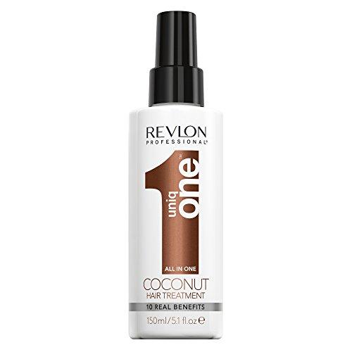 Uniqone All in One Coconut Hair Treatment Spray senza Risciacquo, Trattamento Capelli, 150 ml