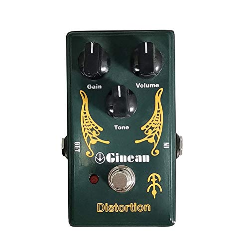 Leeofty Distortion Guitar Effect Pedal for Electric Guitar Bass String Instrument