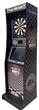 """Take Aim Dart Heavy Duty Electronic Non Coin Operated Machine with 23"""" Monitor"""