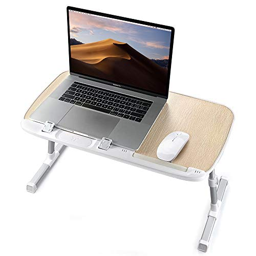 1. TaoTronics Lap Desks for Eating and Laptops Stand Lap Table
