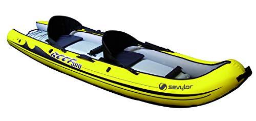 Sevylor Kayak Gonflable Reef 300, Kayak Sit-on-Top, Canoë...