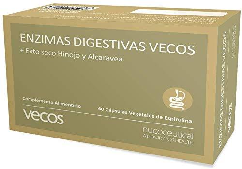 Enzimas digestivas con alta concentración de papaína, brom