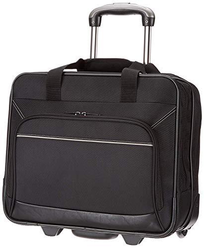 AmazonBasics Laptop ZH1310215R3 -Rollkoffer / Trolley für Notebooks bis 16',Schwarz