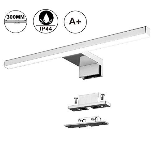 Lampada da Specchio a LED per Bagno 5W 30cm 400LM Azhien,Bianco Neutra 4000K Lampada Armadio...