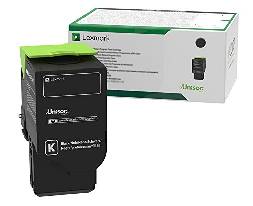 Lexmark C251UK0 Black Ultra High Yield Return Program Cartridge Toner, Grey