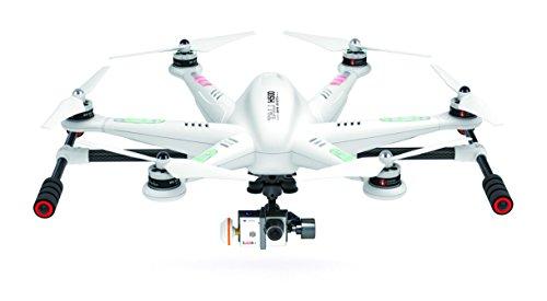 Walkera 25161 - Esacottero Tali H500 FPV 3D Gimbal Devo12E con Fotocamera HD, Colore: Bianco