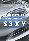 THE FUTURE OF AUTOMOBILES IS S3XY: This A4 notebook with 100 lined pages matte cover should reflect your love for EV cars