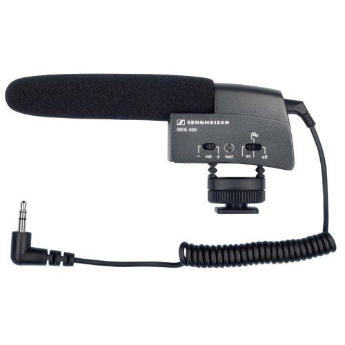 SENNHEISER ビデオカメラ用 ショットガン・マイク MKE 400 並行輸入品