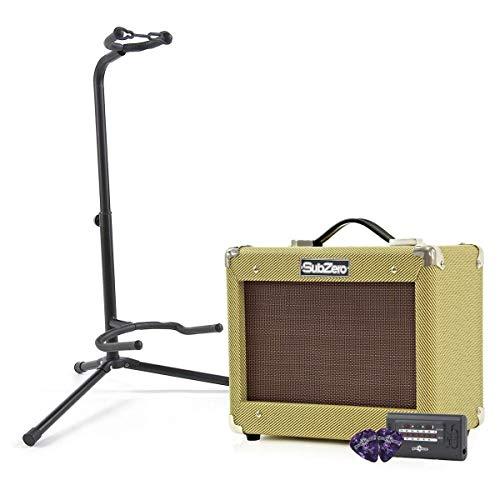 "SubZero V15G Vintage 15W Guitar Amp, 6.5"" Speaker,"