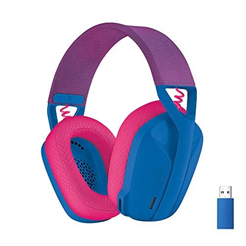 Logicool G ロジクール G ゲーミングヘッドセット G435 LIGHTSPEED & Bluetooth ワイヤレス ヘッドセット/...