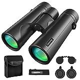 Eyeskey 10X42 Powerful Birding Binoculars for Adults Compact Long Distance Waterproof Binoculars | Perfect for Bird Watching Deer Hunting Stargazing
