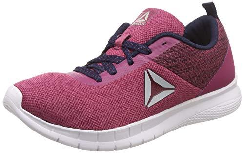 Reebok Women Tread Prime Lite Berry/Navy Running Shoes-4 Kids UK (CN7985)