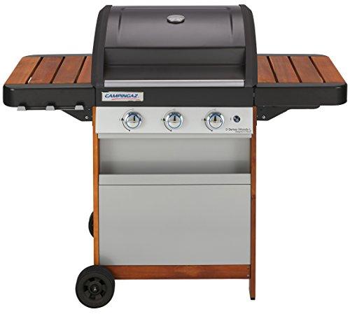 Campingaz 3 Series Woody L Grill Barbecue a Gas con 3 Bruciatore, 9.6 kW di Potenza, Sistema...