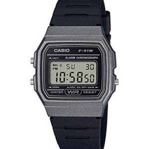Casio Men's Classic Quartz Watch with Resin Strap, Black, 19.25 (Model: F-91WM-1BCF) 11