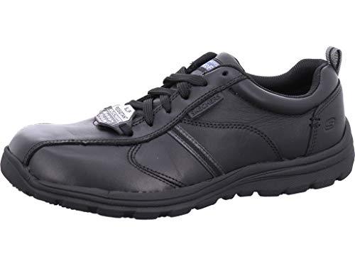 Skechers Work Relaxed Fit: Hobbes-Frat SR, Zapatos de Seguridad Hombre, Negro (Blk), 39.5 EU