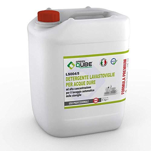 ls004/5 - Detergente Professionale Liquido concentrato per lavastoviglie Indicato per acque dure....
