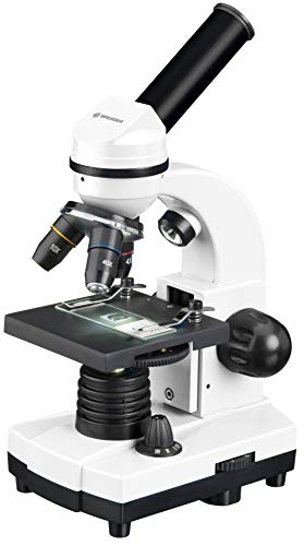 BRESSER Biolux SEL Schülermikroskop 40x-1600x mit Smartphone Halter und Hartschalenkoffer mit Zubehör