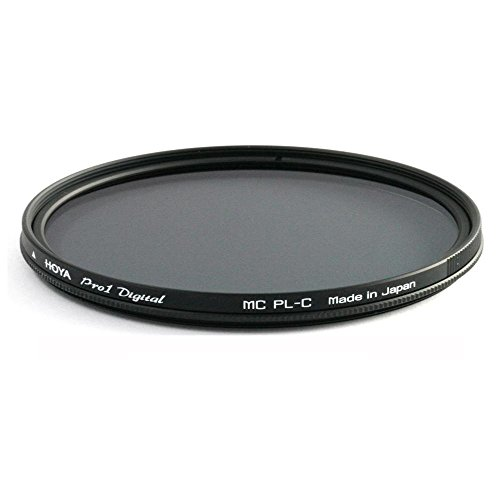 Hoya Pro1 Digital Circular PL 55 mm - Filtro Polarizador para Objetivos de 55 mm, Montura Negra