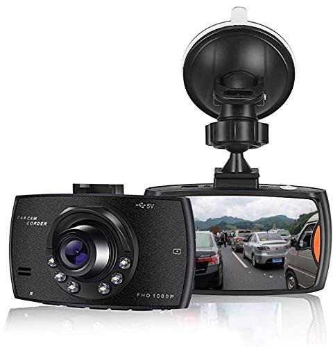SOOTEWAY【2020 Nuova Versione】 Dash Cam FHD 1080P Video Telecamera per Auto, Grandangolare 170° con 2.4' Schermo LCD, Supporto G-Sensor, Registrazione in Loop, Monitor di Parcheggio
