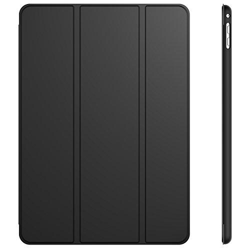 JETech Custodia per iPad Air 2, con Funzione di Supporto, Auto Svegliati/Sonno, Nero