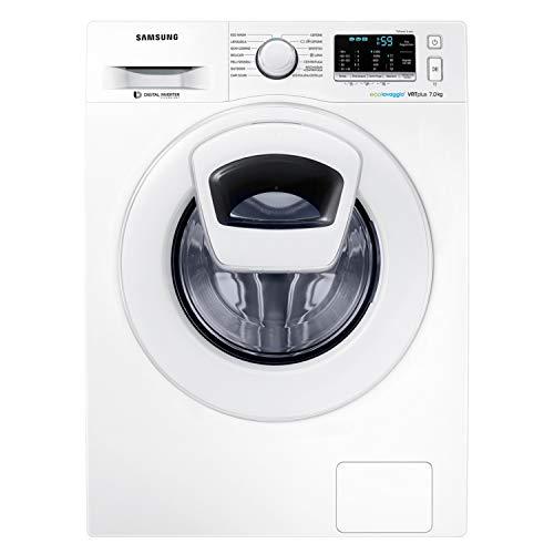 Samsung WW70K5210XW Lavatrice Slim 7 kg AddWash, Profondit 46,5 cm, 1200 rpm, Bianco