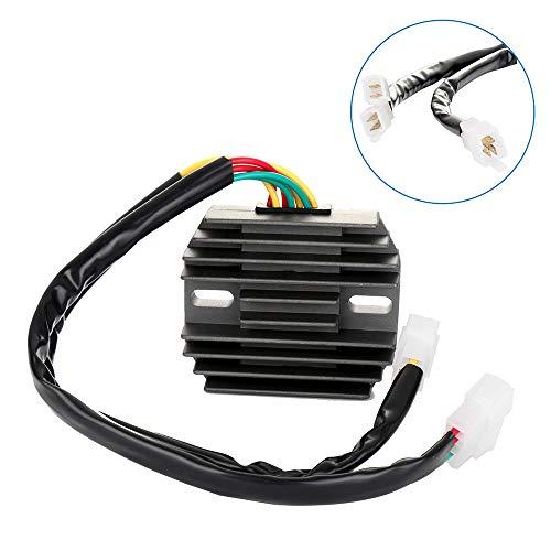 ECCPP Voltage Regulator Rectifier Fit for 1995-1998 Honda Shadow 1100 1995-2001 Honda Shadow ACE 1100 1998-2002 Honda Shadow Aero 1100 31600-MAA-000 Rectifier Regulator