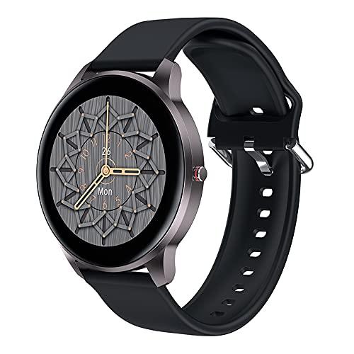 Smartwatch Uomo Leadyeah Orologio Fitness Cardiofrequenzimetro Contapassi per esercizio aerobico Camminare Orologio Sportivo con Bluetooth impermeabile IP68 compatibile per IOS Android