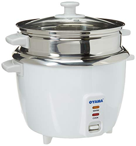OYAMA Stainless 16-Cup (Cooked) (8-Cup...