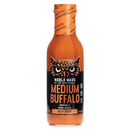 THE NEW PRIMAL Medium Buffalo Dipping & Wing Sauce, 12 OZ