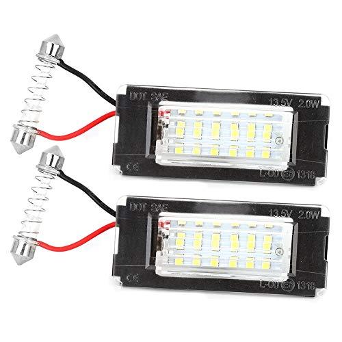Duokon 1 coppia 12V 18 LED Luci di targa SMD targa targa misura per MINI R56 R57 R58 R59 2006-2014