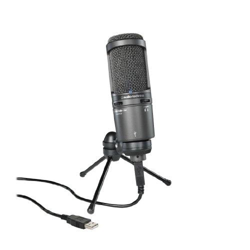 Audio-Technica AT2020USB - Micrófono (Studio, 20 - 20000 Hz,...