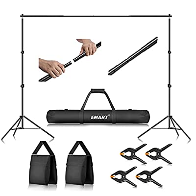 Multi-function Use: Professional lightweight pipe and drape support stand for family gathering, wedding, as well as for professional photography or party. Adjustable Photo Booth Stand: Easy to assemble and disassemble by one person in just a few minu...