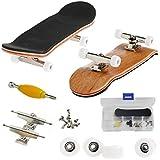 AumoToo Skateboard de Doigt, Professionnel Planche à roulettes Doigt érable...