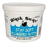 Black Swan 45377 Stainless Plumber Putty
