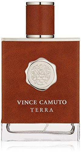 Vince Camuto Terra Eau de Toilette Spray for Men, 3.4 Fl Oz