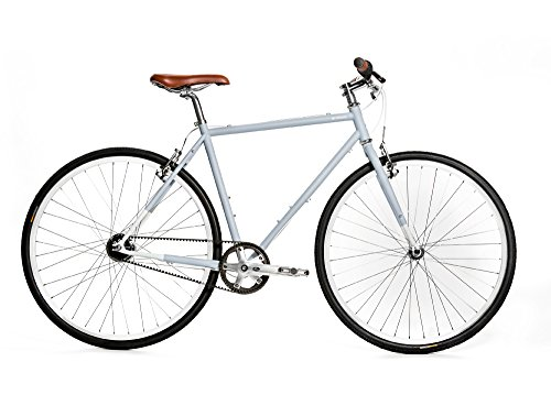 Brilliant Bikes Brilliant Bicycle Co - l-Train, Small, Subway Grey, 50cm/Small