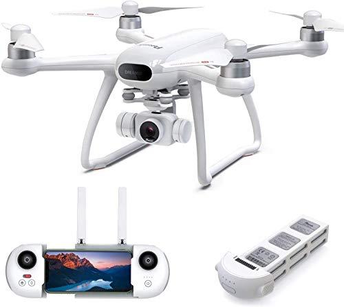 Potensic Dreamer Drone con Telecamera 4K per Adulti, Tempo di Volo 31 Minuti Quadricottero RC con Motore Brushless, Ritorno a Casa, Funzione Hovering, Seguimi, 5.8G WiFi