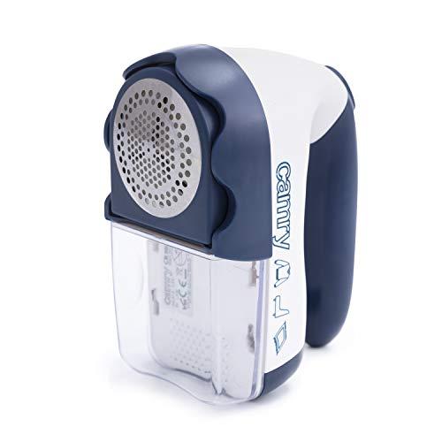 Camry CR9606 Quitapelusas a pilas o eléctrico con cuchillas de acero inoxidable CR-9606,...