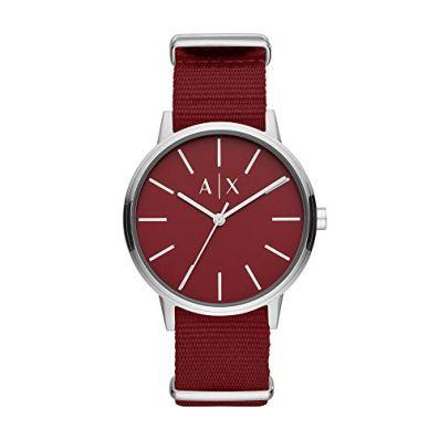 Armani Exchange Men's Three-Hand Stainless Steel Watch AX2711