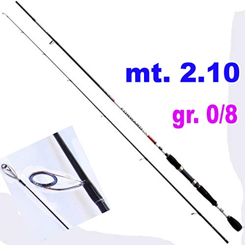 Generico Canna Pesca Spinning Trout Area Rock Fishing Light Fishing Trota Mare