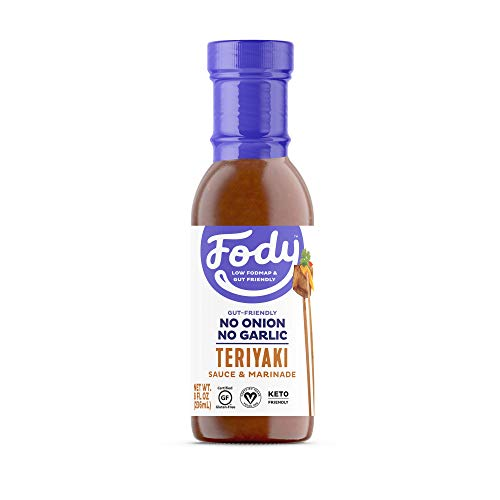 Fody Foods Vegan Teriyaki Sauce Marinade   Sesame Tamari   Low FODMAP Certified   Gut Friendly No Onion No Garlic No MSG   IBS Friendly   Gluten Free Lactose Free