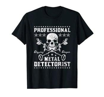 Détecteur de métaux professionnel T-Shirt