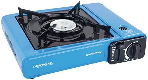 Campingaz Camp Bistro 2 Fornello Gas Portatile per Campeggio/Feste, Blu