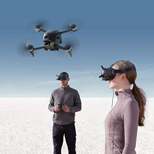 Product Image 6: DJI FPV Combo - First-Person View Drone UAV Quadcopter with 4K Camera, S Flight Mode, Super-Wide 150° FOV, HD Low-Latency Transmission, Emergency Brake and Hover, Gray