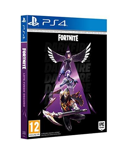Fortnite: Lote Fuego Oscuro (Esta caja contiene código de descarga)