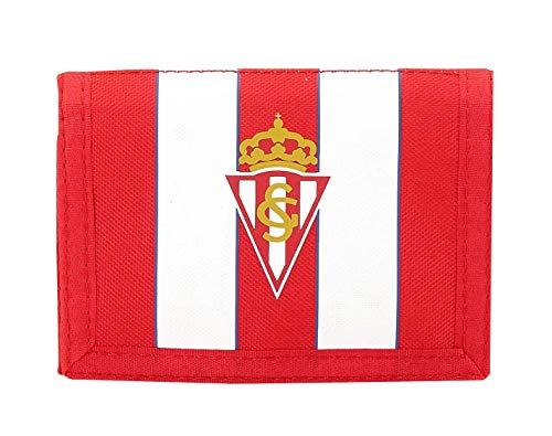 Safta Cartera Billetera Oficial Real Sporting De Gijon 125x95mm